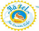 Hazzel Ice Cream Cafe - logo