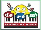 DO RE MI  School Of Music - logo
