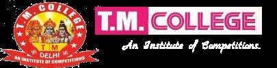 T. M. College Rohini 9818788661 - logo