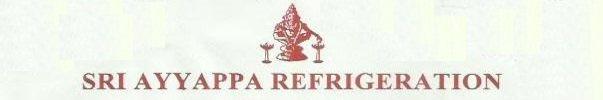 SRI AYYAPPA REFRIGERATION - logo