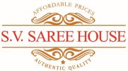 SV SAREE HOUSE - logo