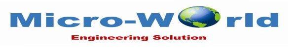 Micro-World Engineering Solution - logo
