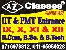 AtoZclasses( IIT JEE & PMT ) Call-9716978812 - logo