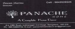 Panache home furnishings - logo