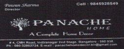 Panache home furnishings