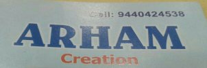 Arham Creation - logo