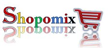 SHOPOMIX ! ONLINE SHOPPING ! ELECTRONIC ! APPARELS ! EDUCATION - logo