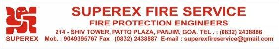 SUPEREX FIRE SERVICE - logo