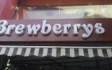 Brew Berrys, Law garden - logo