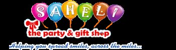 Saheli party and gift shop - logo