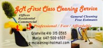 G&M First Class Cleaning Services - logo