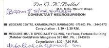 Dr C K Ballal Neuro Clinic Brain & Spine Surgeon - logo