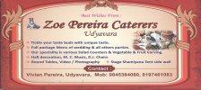 Zoe Pereira Caterers - logo