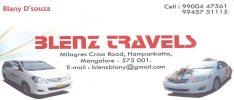 Blenz Travels - logo