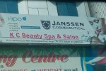 K C beauty Spa and salon - logo