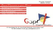 Gopi Digital Studio - logo