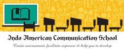 Indo American Communication School - logo