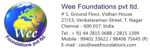 WEE Foundations  9840875645 - logo