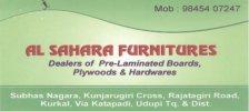 Al-Sahara Furnitures