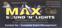 Max Sound ''N'' Lights