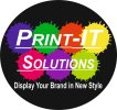 PRINT IT SOLUTIONS........DISPLAY UR BRAND IN NEW STYLE - logo