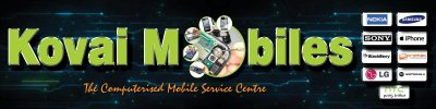 Kovai Mobiles Only Service - logo