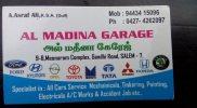 Al Madina Garage - logo