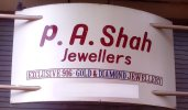 P A SHAH Jewellers - logo
