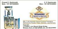 Deshmukh industries