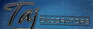 Taj Decorators - logo