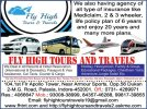 Fly High Tours and Travels - logo