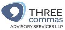 Three Commas - logo
