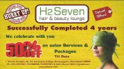 H2 Seven The unisex Salon