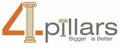 4 Pillars Constructions & Designs - logo