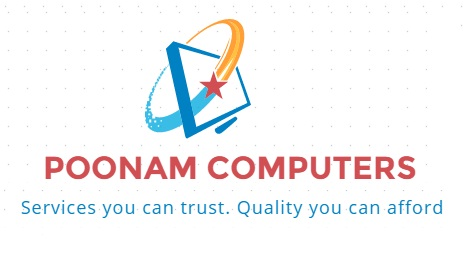 POONAM COMPUTERS - logo