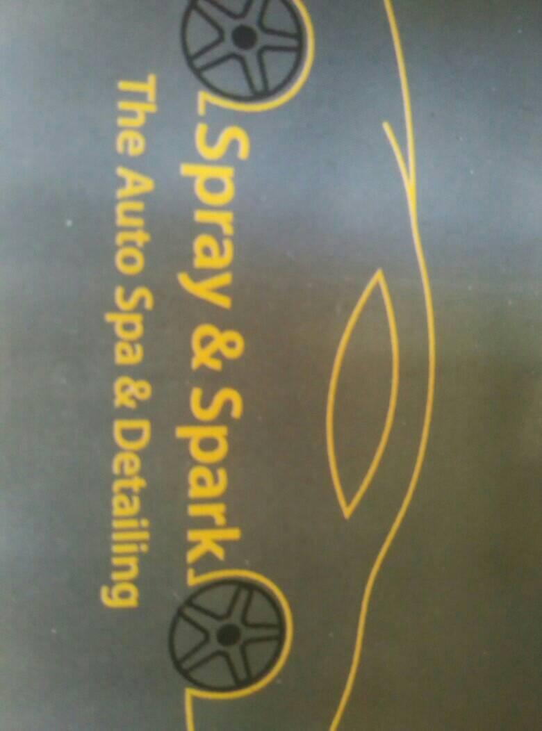 Spray And Spark - logo
