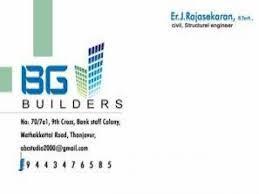 BG BUILDERS - logo