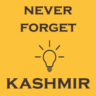 Never Forget Kashmir
