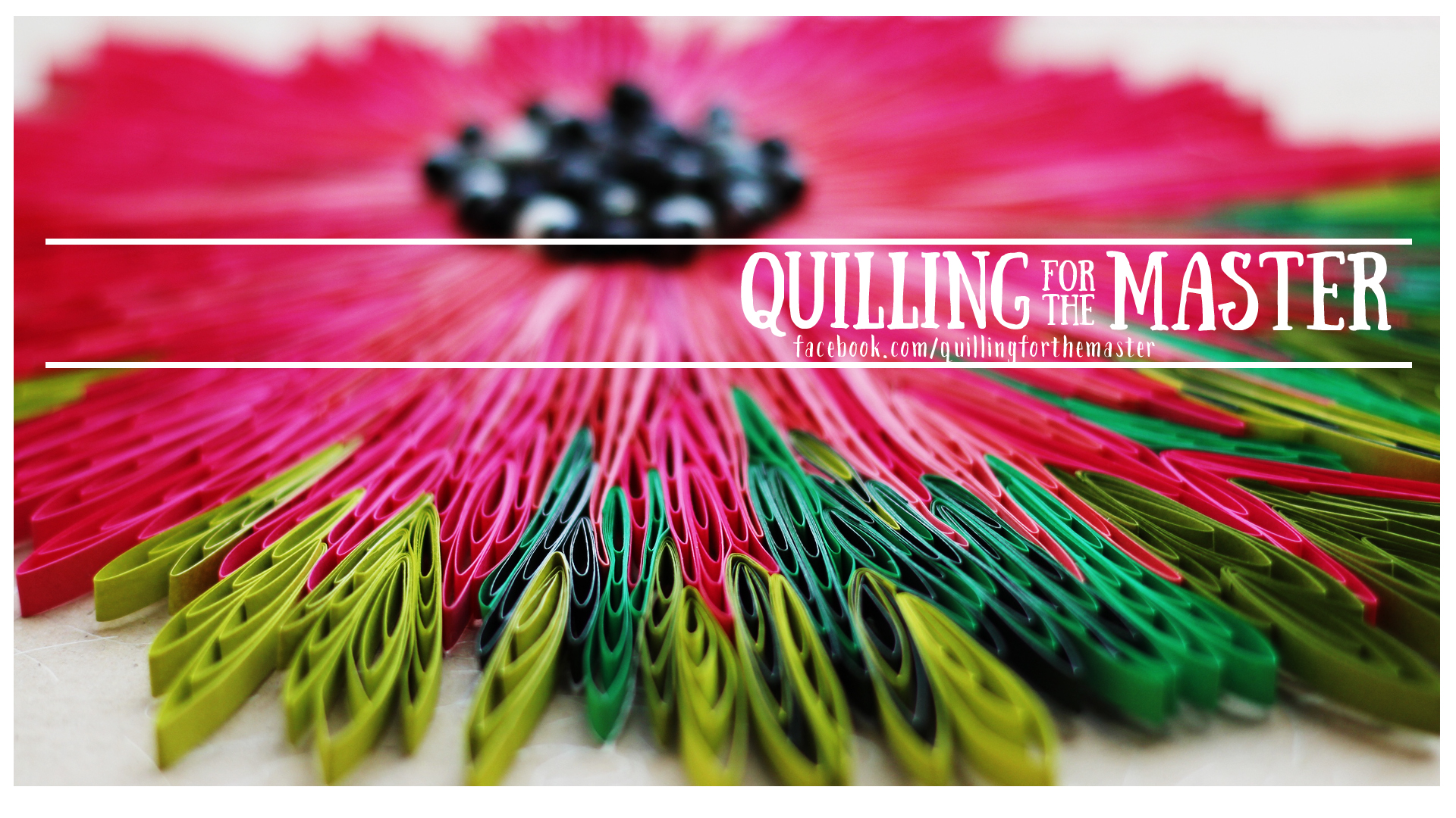 quilling for the Master - logo