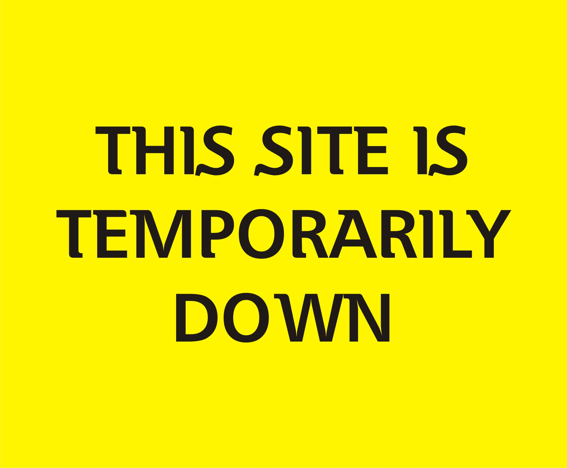 Site down - logo