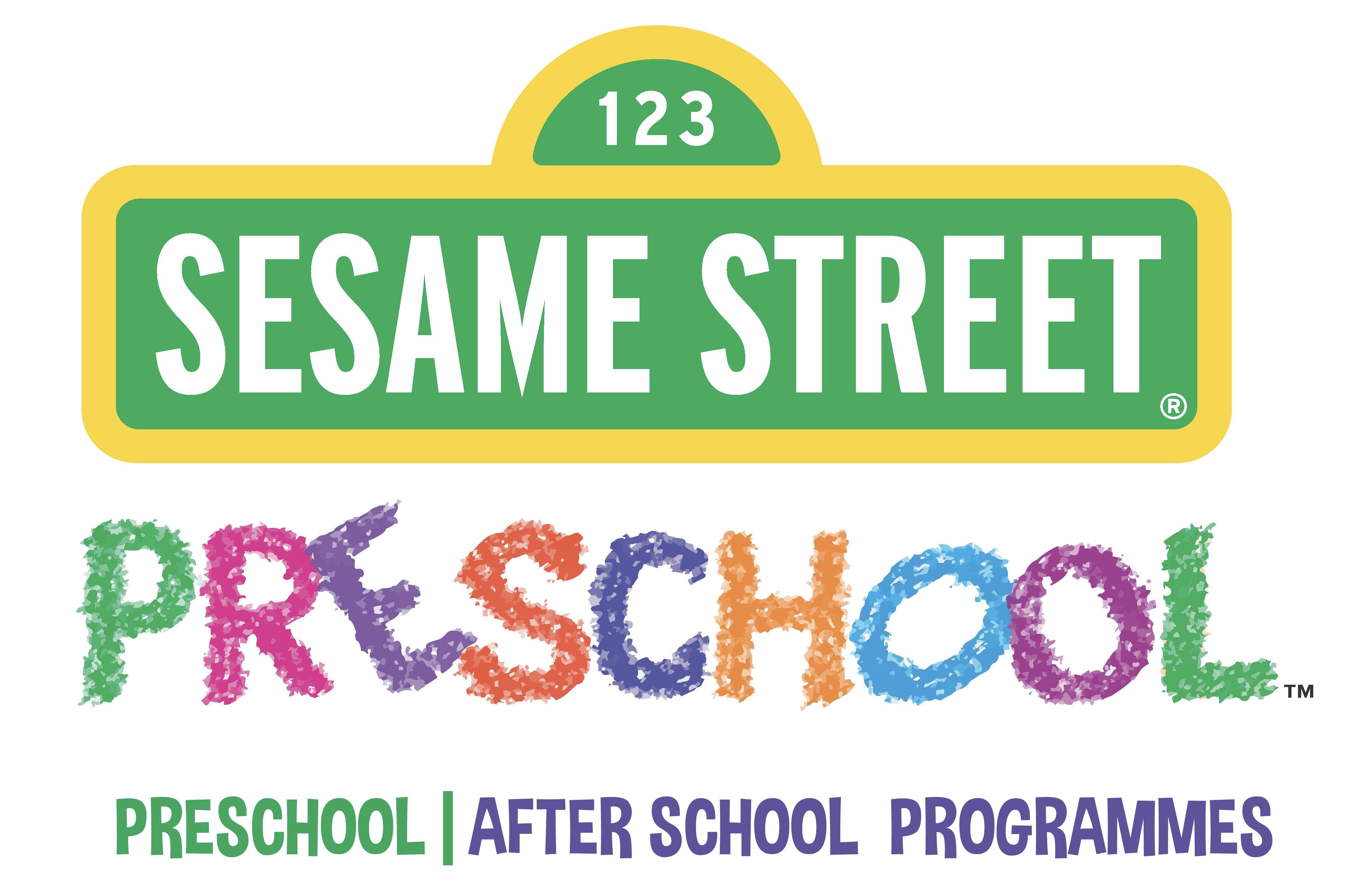 Sesame Street Preschool, HSR Layout - logo