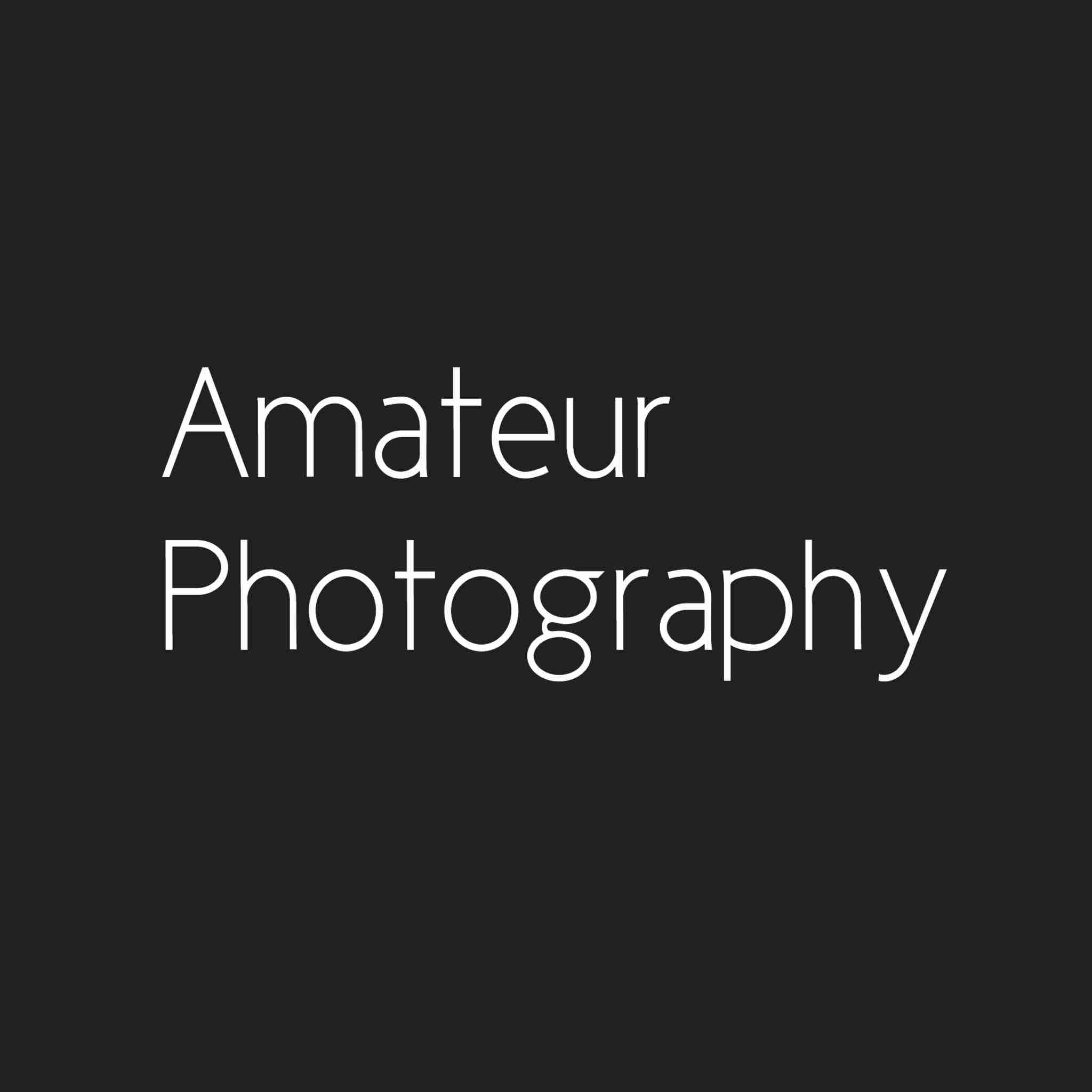 Amateur Photography - logo