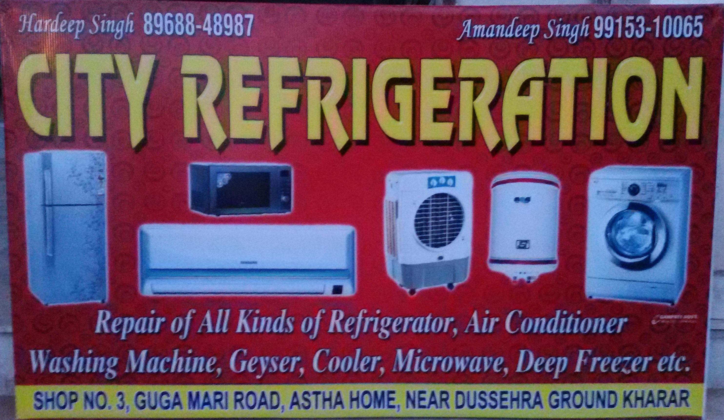 City Refrigeration - logo
