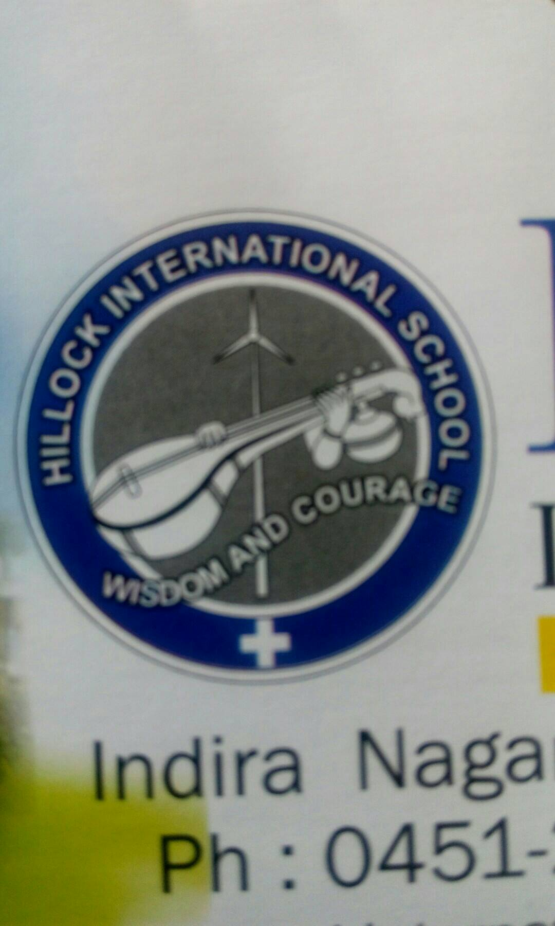 Hillock International School - logo