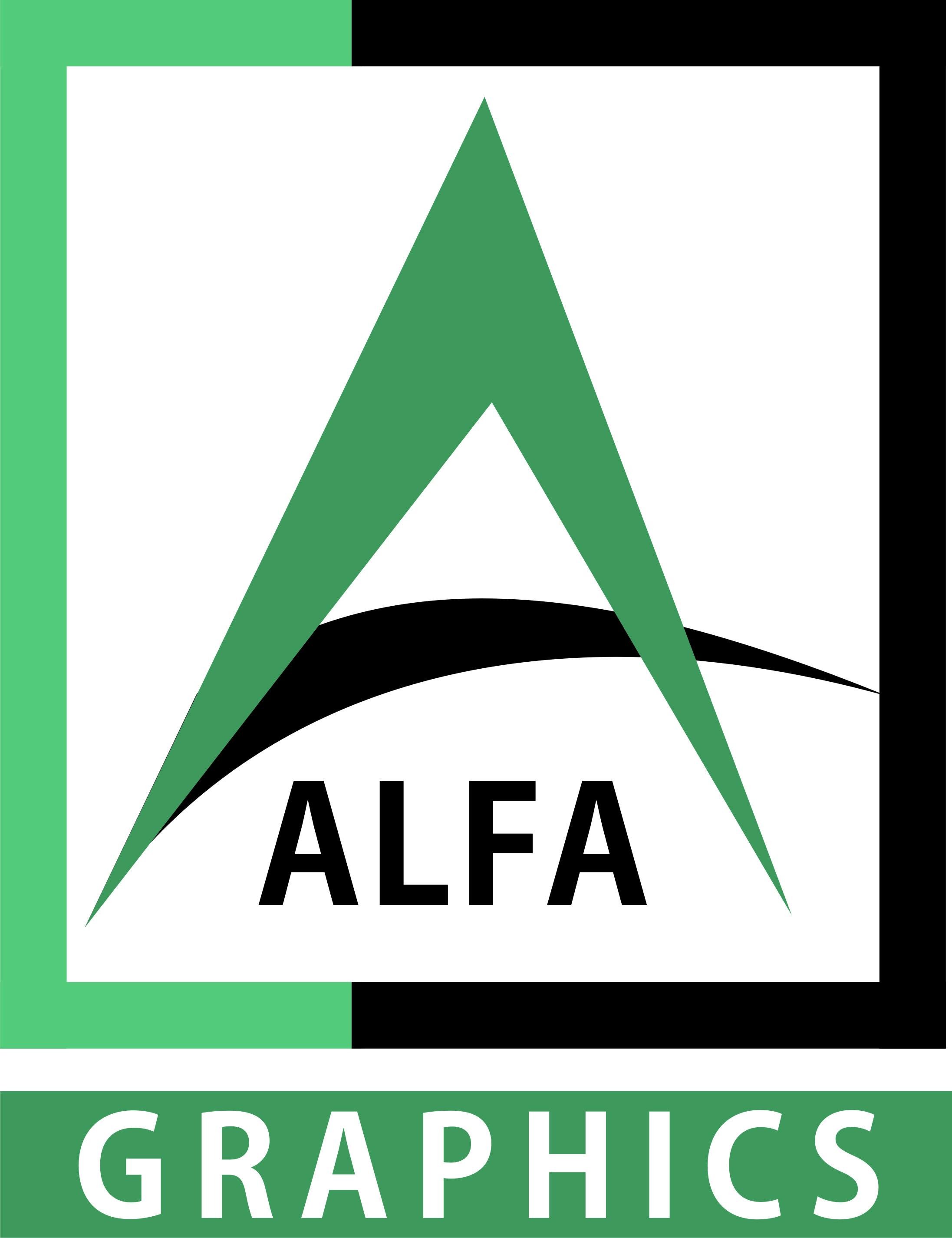 alfagraphics - logo