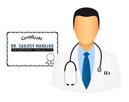 Dr Sanjeev Mahajan - logo