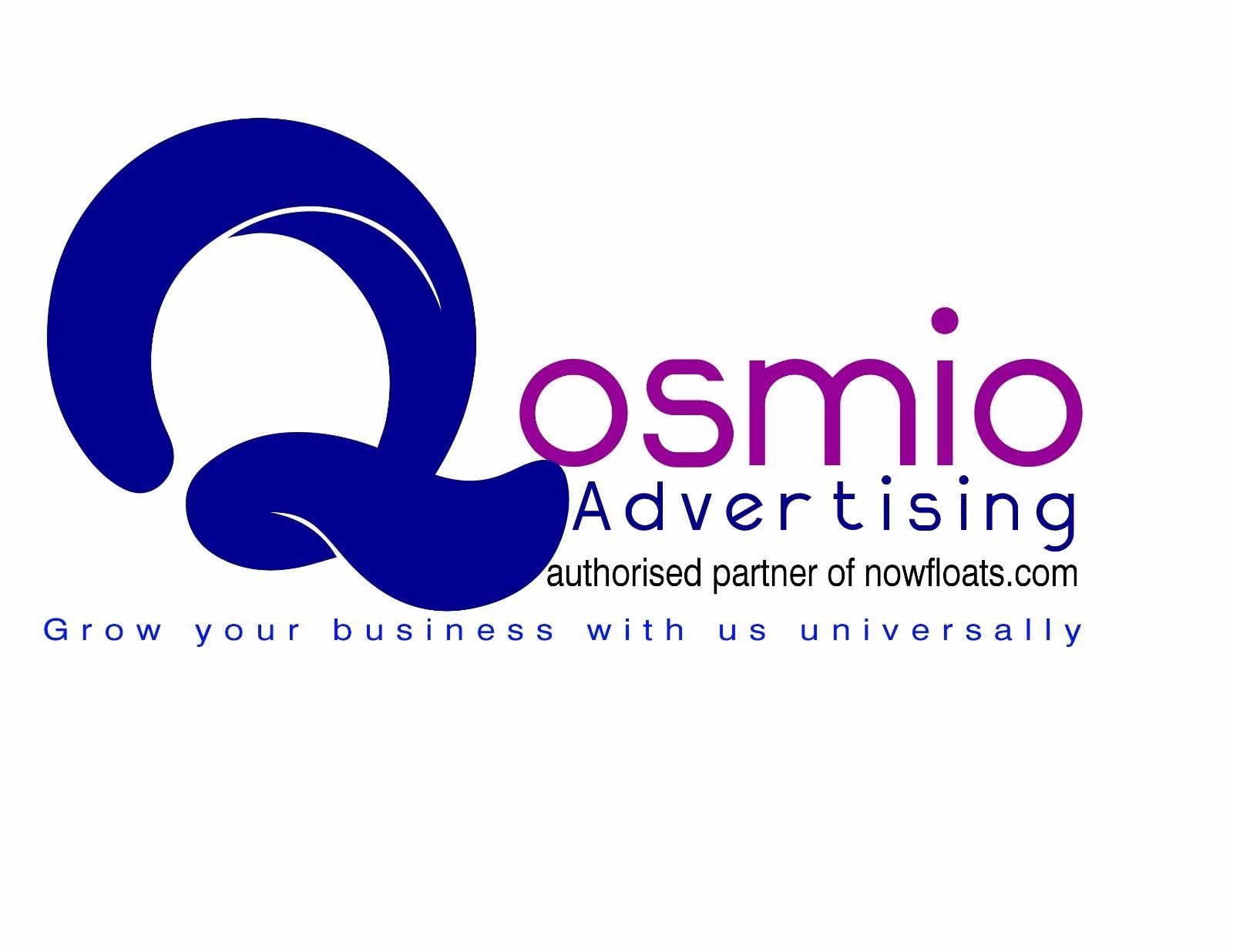 QOSMIO ADVERTISING @8800233034 - logo