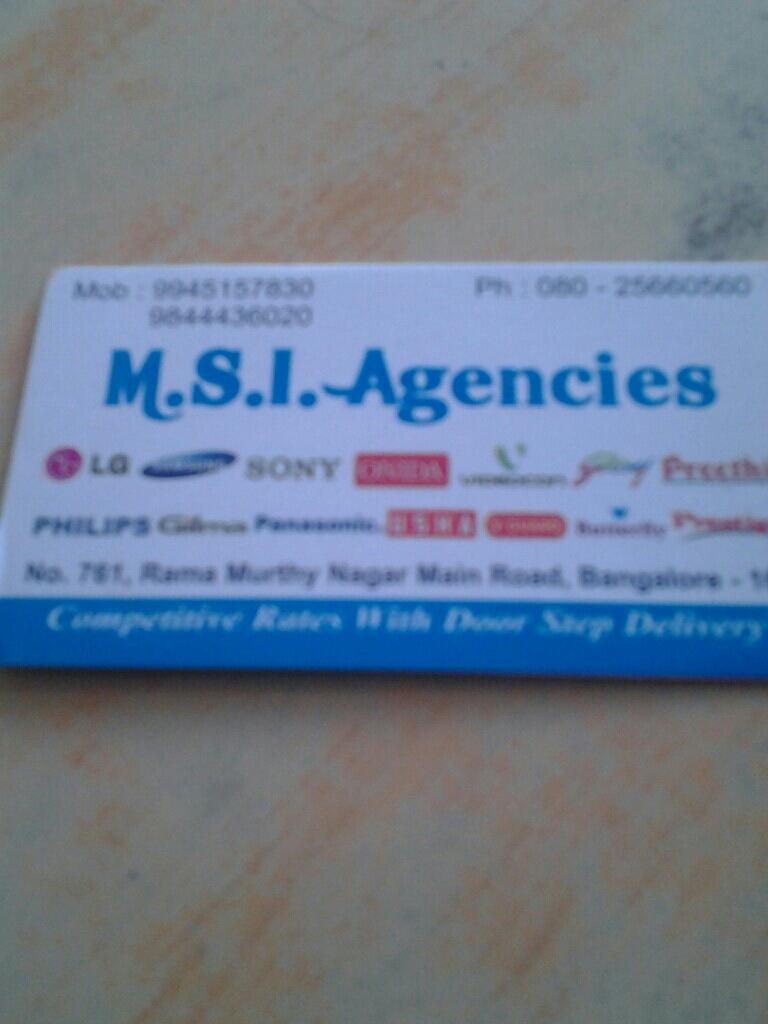 M.S.I Agencies