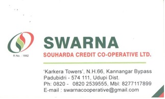 Swarna Souharda Credit Co operative Ltd - logo