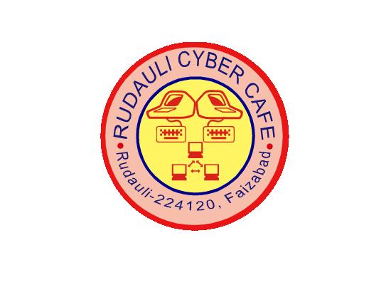 Rudauli Cyber Cafe - logo